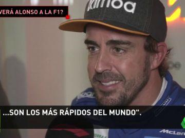 """Fernando Alonso: """"Si algún día vuelvo a la F1, que lo dudo, es para ganar algún Mundial"""""""