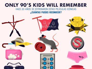 ¿Cuántas de estas películas de tu infancia eres capaz de reconocer?