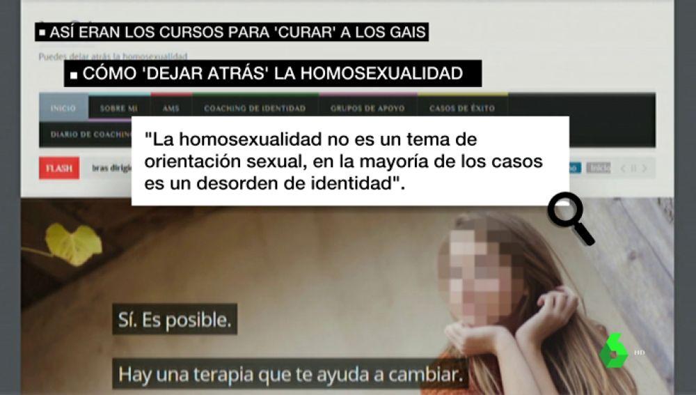 Así eran los cursos de Alcalá para curar la homosexualidad: hacían deberes y veían vídeos homófobos