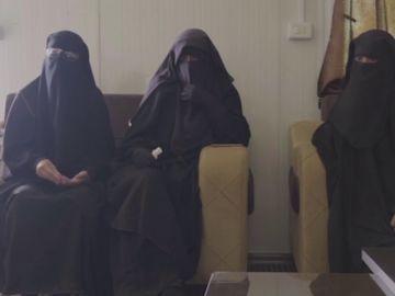 Tres mujeres españolas retenidas por el Estado Islámico