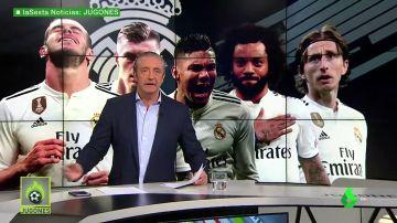 Los señalados del Madrid