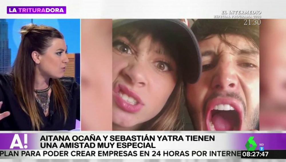 Aitana Ocaña y Sebatián Yatra: una amistad con mucha química delante y detrás de los escenarios