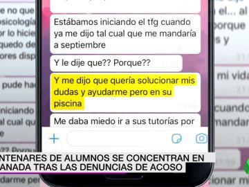 """Denuncian a un profesor por acoso en Granada: """"Me dijo que me solucionaba las dudas, pero en su piscina"""""""