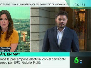 """El consejo de Junqueras a Rufián para defender una mesa de diálogo en Cataluña: """"Si yo hablo con mis carceleros vosotros tenéis que hablar"""""""