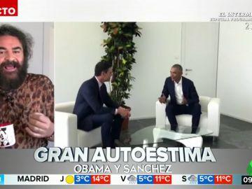 """El análisis de El Sevilla sobre el encuentro entre Sánchez y Obama: """"Pedro se quiere mucho al compararse con él"""""""