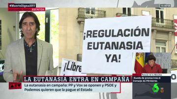 """Martín Pallín y Benjamín Prado analizan el debate sobre la eutanasia: """"Hay una zona de la derecha que quiere juntar conceptos morales y legales"""""""