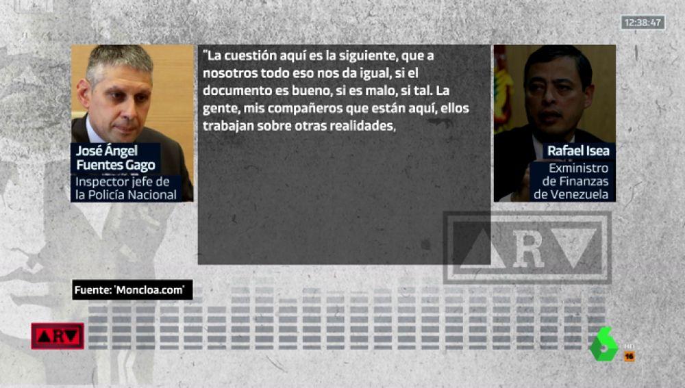 """Nuevos audios sobre la trama de espionaje a Podemos: """"A nosotros nos da igual si el documento es bueno, si es malo…"""""""