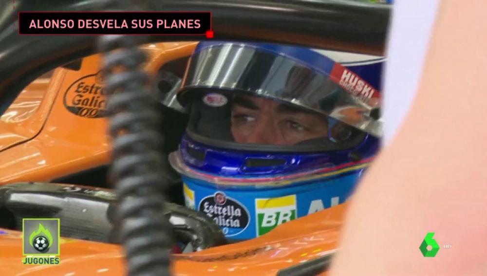 """Fernando Alonso tiene claro qué quiere en 2019: """"La Indy 500 es mi gran objetivo este año"""""""