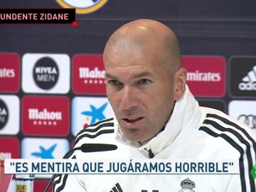 """Zidane: """"No tengo decidido quién quiero que se quede y quién quiero que se vaya"""""""