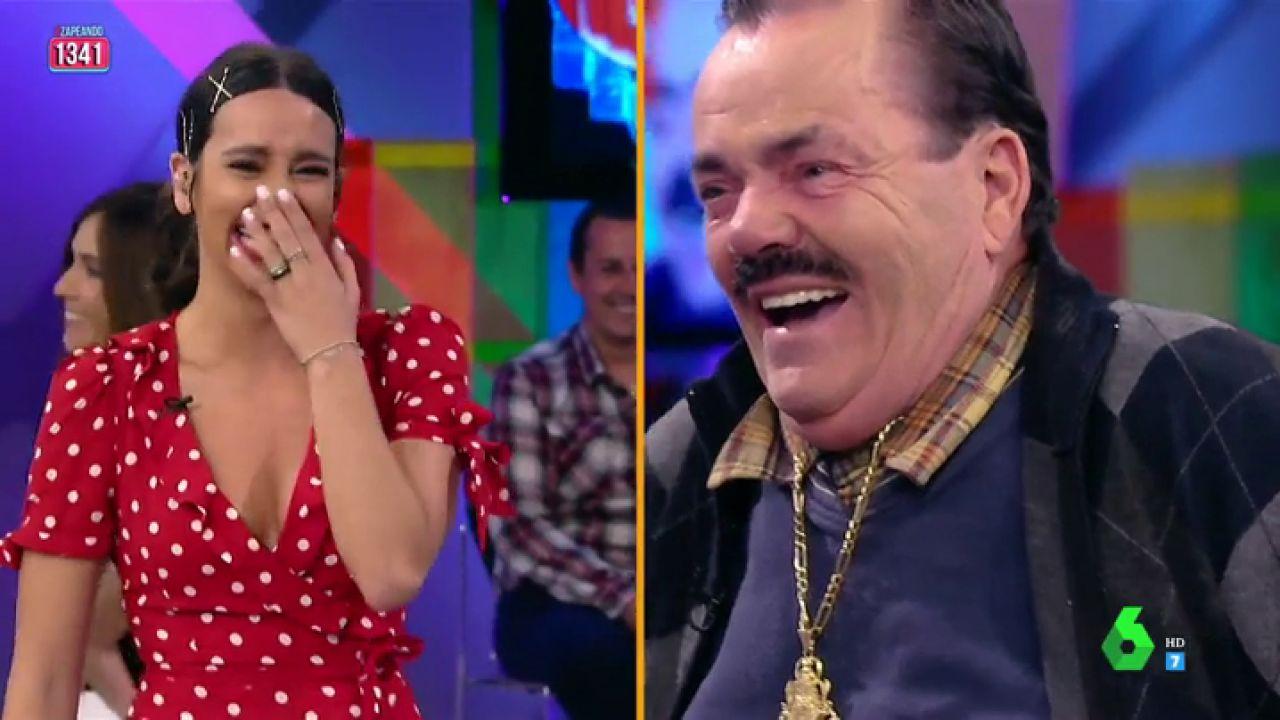 El Risitas Se Parte De Risa Con Cristina Pedroche Antes De Que Cuente Su Chiste Callaos Que Me Voy A Hacer Pis