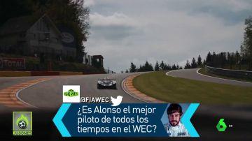 """""""¿Es Fernando Alonso el mejor piloto de la historia del WEC?"""" La pregunta que se hace la competición"""