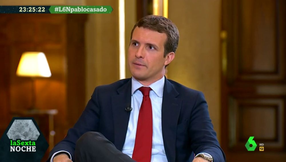 """Pablo Casado se compromete a no derogar la Ley de Violencia de Género como pide Vox: """"Hay que seguir erradicando esta lacra"""""""
