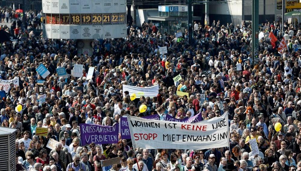 Campaña popular berlinesa para expropiar consorcios inmobiliarios