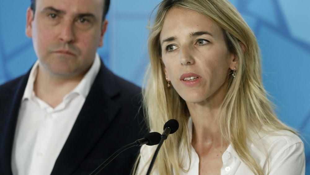 La candidata del PP por Barcelona , Cayetana Álvarez de Toledo.
