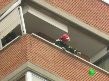 Explosión en un inmueble de Vallecas, Madrid