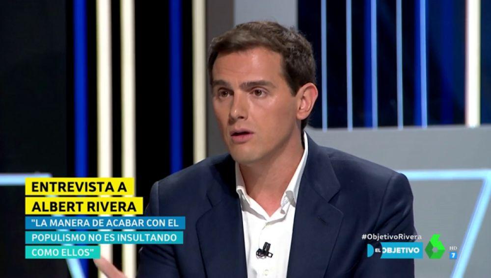 """La justificación de Albert Rivera a su foto con Vox en Colón : """"Tengo un álbum con muchas fotos donde hay libertad e igualdad"""""""