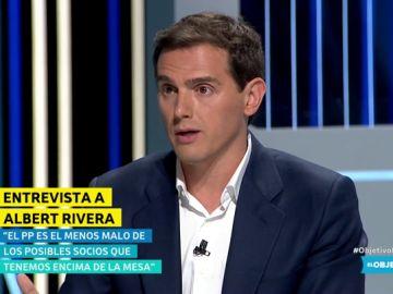 ¿Por qué alguien querría votar a Ciudadanos si ya avisan de que pueden hacer presidente a Casado?, Rivera responde