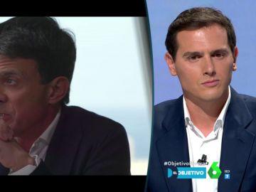 """Albert Rivera responde a Manuel Valls tras decir que Ciudadanos """"no"""" está luchando contra la extrema derecha"""