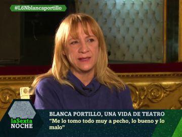 """El análisis de Blanca Portillo sobre España: """"Es un país mucho más feliz y tolerante de lo que nos quieren pintar"""""""