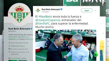 El mundo del fútbol manda su apoyo a Joaquín Caparrós tras anunciar que tiene leucemia crónica