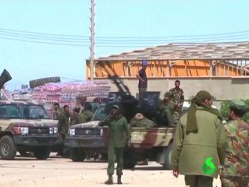 EEUU evacua a parte de sus fuerzas en Libia tras la escalada de tensión en el país
