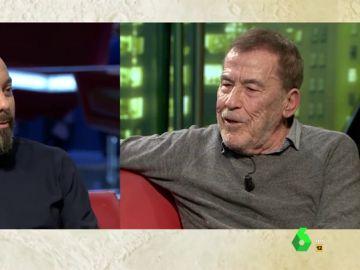 """Fernando Sánchez Dragó: """"Ser fascista es el que impone sus ideas por la violencia y Vox la está padeciendo"""""""