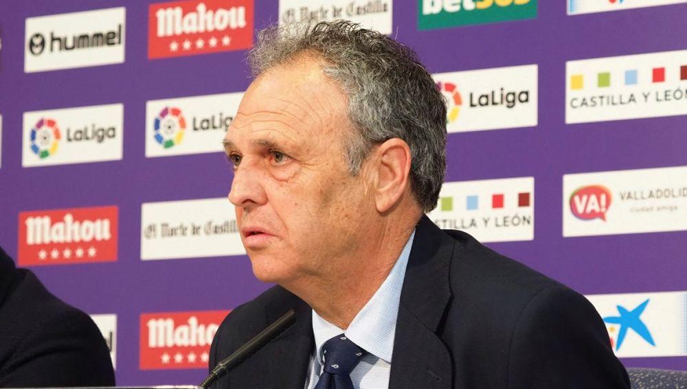 El técnico del Sevilla, Joaquín Caparrós