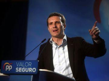 Pablo Casado en un acto en Córdoba