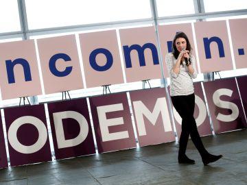 La portavoz de Unidas Podemos en el Congreso, Irene Montero