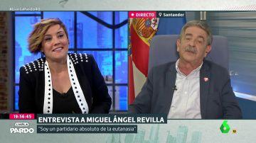 Miguel Ángel Revilla, en Liarla Pardo