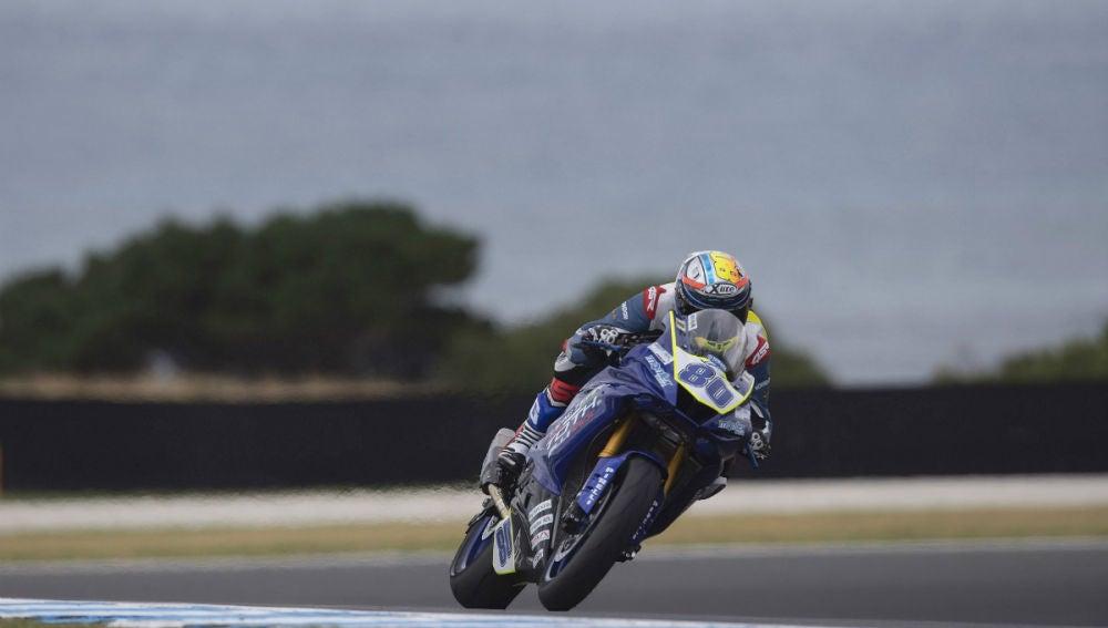 Héctor Barberá, en Superbikes