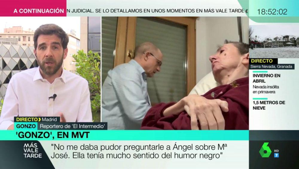 """Gonzo desvela que un líder político contactó con Ángel Hernández: """"Le pidió que se pusiesen las pilas"""""""
