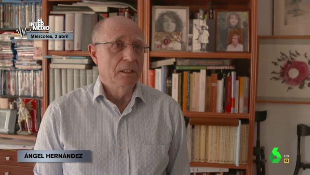 """Los nervios y dolor de Ángel Hernández tras declarar ante la Policía por la muerte de su mujer: """"Ahora soy un delincuente"""""""