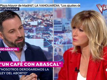 """Santiago Abascal (Vox) carga contra el aborto: """"Susanna, tu cuerpo es tuyo, pero el que llevas dentro no"""""""