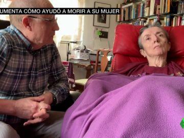 """El hombre que ayudó a morir a su mujer grabó un vídeo del momento: """"Cuanto antes, mejor"""""""