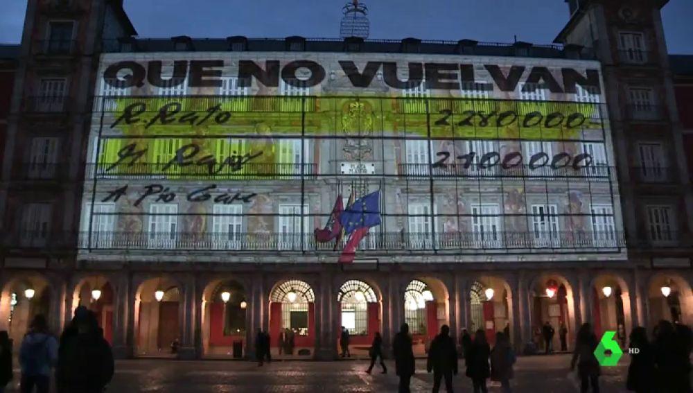 El Ayuntamiento de Madrid se desvincula de la proyección de los papeles de Bárcenas y responsabiliza a Unidas Podemos