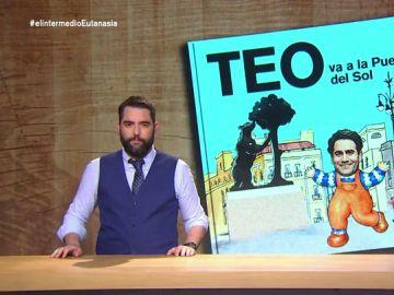 """Dani Mateo repasa """"las aventuras de Teo"""" en la manifestación de Jusapol: """"¿Quiere que la Policía acampe en la puerta del Sol?"""""""
