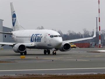 Un Boeing 737 de la compañía Utair