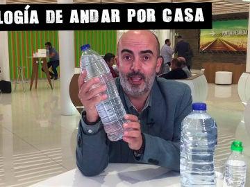 Bebe agua del grifo