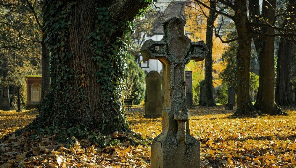 Imagen de archivo de un cementerio