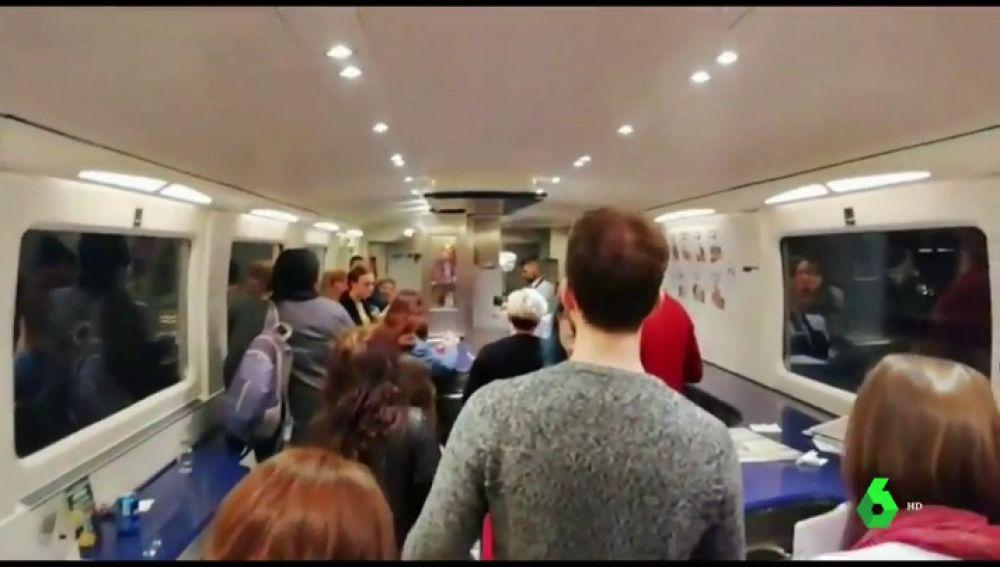La gota fría del Mediterráneo paraliza el tráfico ferroviario entre Cataluña y la Comunidad Valenciana