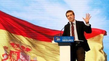 Pablo Casado en un acto en Alicante
