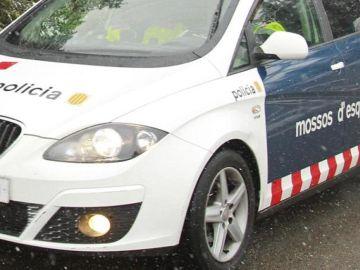 Imagen de un coche de los Mossos d'Escuadra