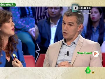 """Tenso encontronazo entre Laura Borràs (JxCat) y Toni Cantó (Ciudadanos): """"Usted es una supremacista"""""""