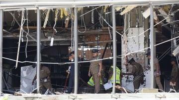 Sri Lanka sufre una cadena de atentados contra iglesias y hoteles de lujo.