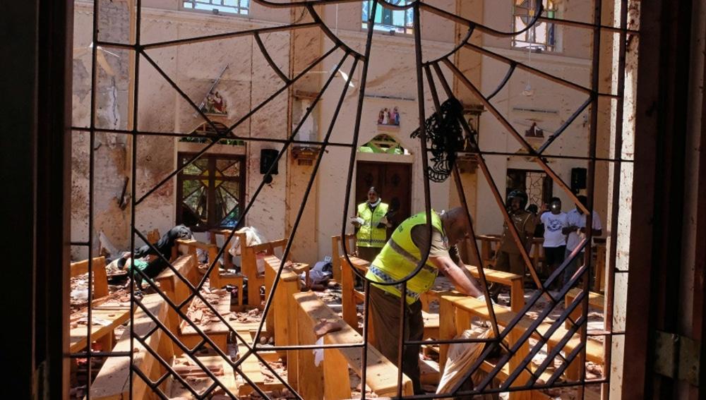 Siete detenidos en relación a los atentados de Sri Lanka
