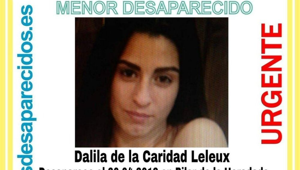 La joven que había desaparecido en Pilar de la Horadada