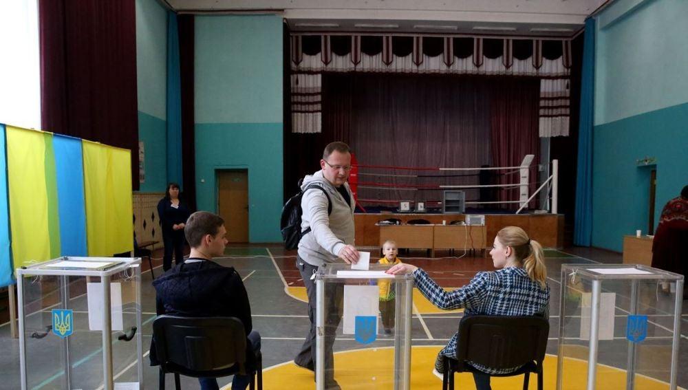 Votaciones en Ucrania