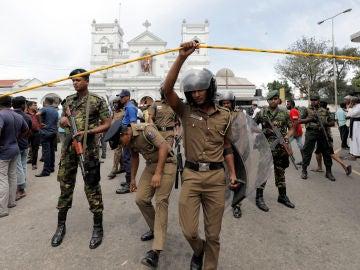 Explosión en Sri Lanka