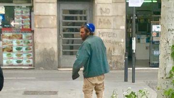 Los vecinos fotografiaron al violador de Las Ramblas después de la agresión